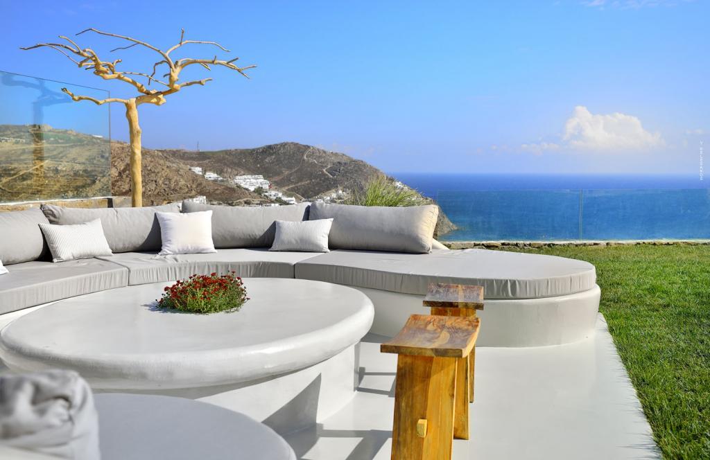 Villa White Lady - Pool Lounge