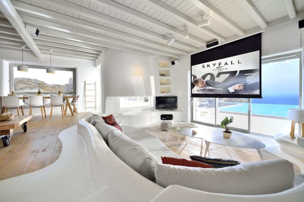 Villa White Lady - Internal Lounge